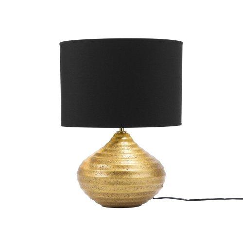 Table Lamp Ceramic Gold KUBAN