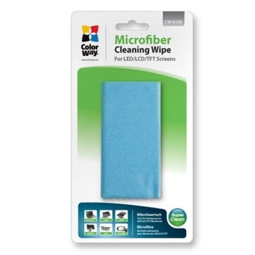 Colorway Microfibre Cleaning Wipe CW-6108