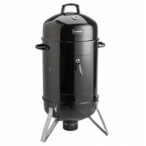 Cuisinart Grill COS-118 Vertical 18 in. Charcoal Smoker - Vents in Lid