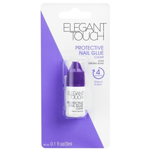 Elegant Touch 4 Second Protective Nail Glue Clear 3ml