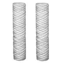 "2 X Sediment 5 Micron Water Filter Cartridges Fits All 10"" Reverse Osmosis"
