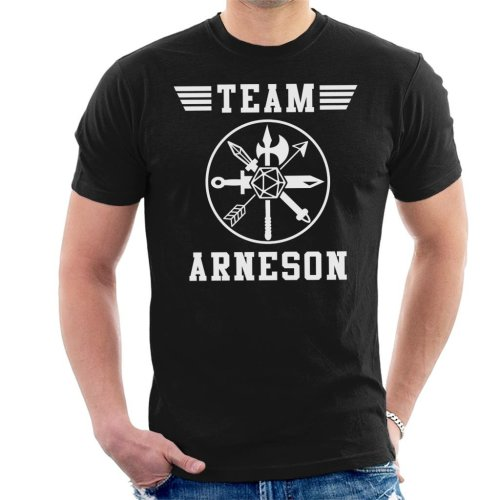 Dungeons And Dragons Team Arneson Men's T-Shirt