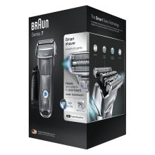 Braun Series 7 7865cc Men's Electric Foil Shaver, Wet and Dry with Clean and Charge Station, Pop Up Trimmer, Rechargeable and Cordless Razor