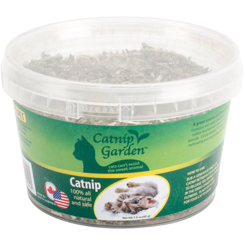 Multipet Catnip Garden Cup 1.5oz-