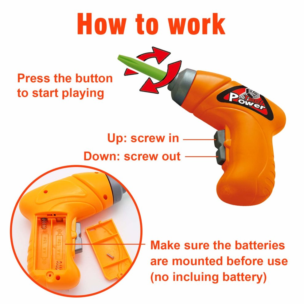 Syosin Design Drill Take Apart Toy Creative Stem Educational