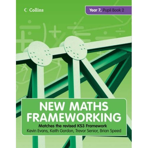 New Maths Frameworking - Year 7 Pupil Book 2 (Levels 4-5): Pupil (Levels 4-5) Bk. 2