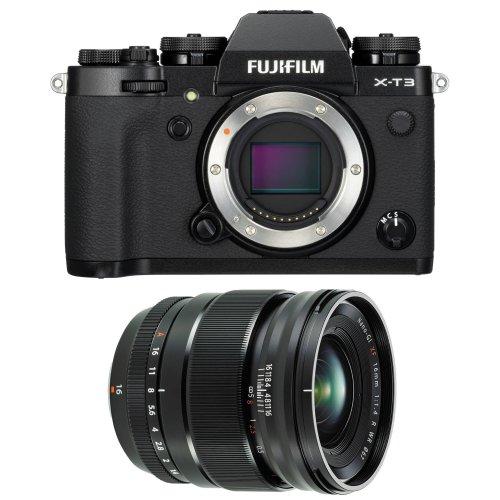 FUJI X-T3 Black + XF 16MM F1.4 R WR Black