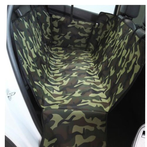 Waterproof Pet Car Seat Cover Pet Mat Rear Single Seat Mat-Zebra Pattern