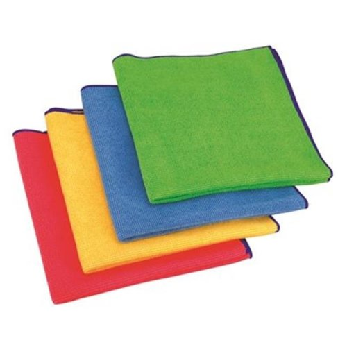 Appeal« Antimicrobial Microfiber Cloth  Green  16X16 In.  24 Cloths Per Box
