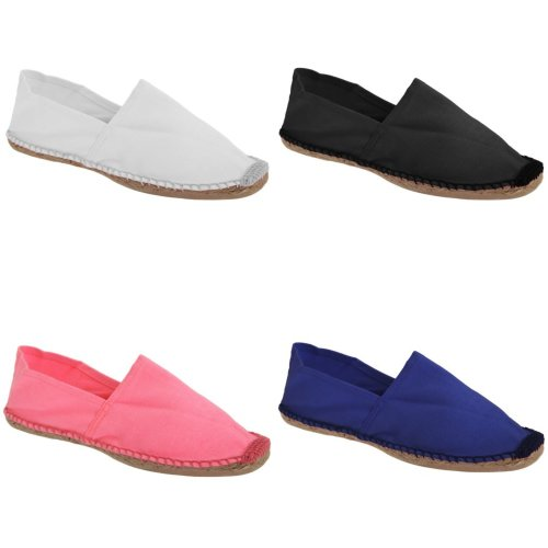 B&C Paradise Mens Vibrant Espadrille Shoes
