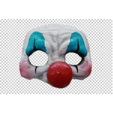 Mask Half Clown Happy