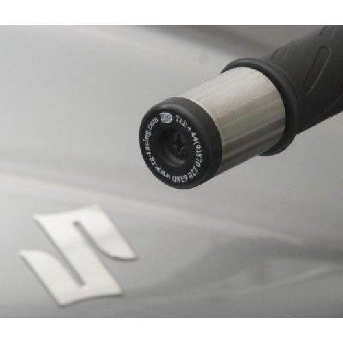 R&G Bar End Sliders for Suzuki GSX1300R Hayabusa 97-07 / Bandit 600 / 650 / 1200 / 1250 / GT / GSX1250FA / DL650 / DL1000 V Strom / GS500 / GSX1400