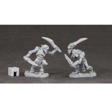 Reaper Miniatures Dark Heaven Legends 03851 Armoured Goblin Swordsmen (2)