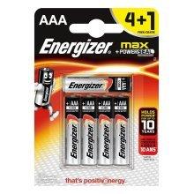 5 x Energizer AAA Alkaline Power Plus Batteries - LR03, MX2400, MN2400, MICRO