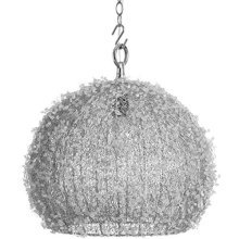 Handcrafted Beaded Spherical Ceiling Pendant -  handcrafted beaded spherical ceiling pendant