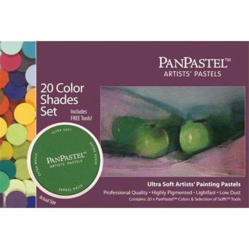 PanPastel PP30206 Ultra Soft Painting Pastel Set - Shades