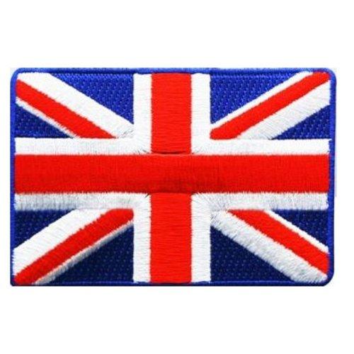 Union Jack Flag Iron On Sew Patch Badge Logo Embroidered UK GB United Kingdom