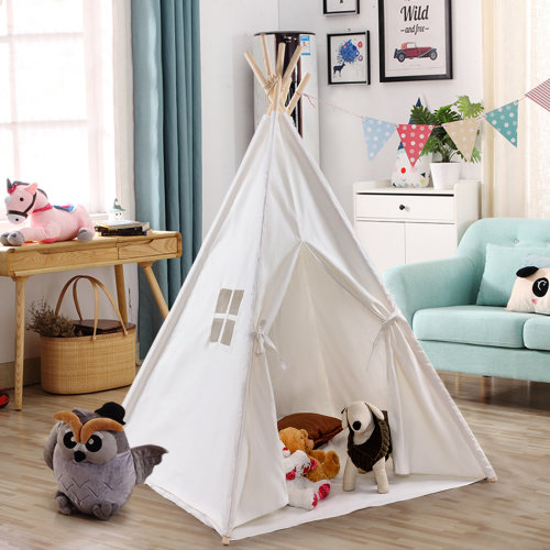 Portable Children Teepee Tent Play Sleeping