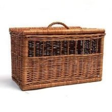 Rectangular Pet Carrier Basket Large