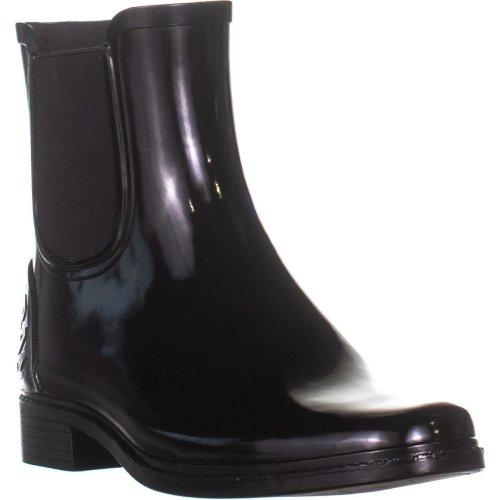 DKNY Marsha Rounded Toe Mid-Calf Boots, Black, 6 UK