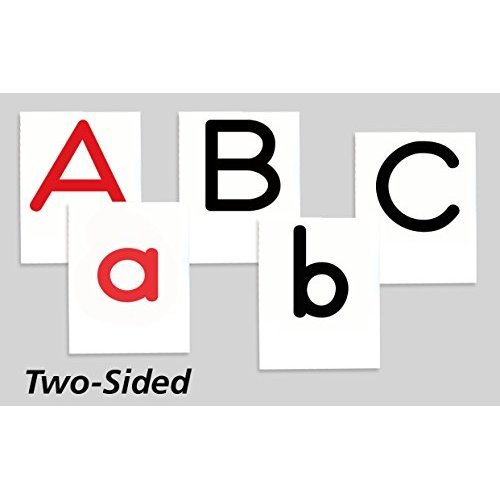 Primary Concepts, PC-1412 Two-Sided Alphabet Letter Tiles Learning Kit