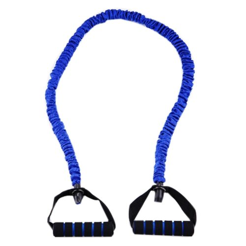 Latex Resistance Band Exercise Straps/Fitness Exercise Bands, Blue(Size: 1.2M)