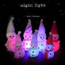 LED Christmas Snowman Night Light