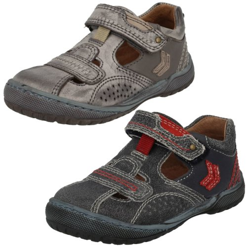 Boys Startrite Summer Shoes Scout - F Fit