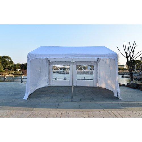 Outsunny Garden Gazebo Party Portable Outdoor (6x4m)