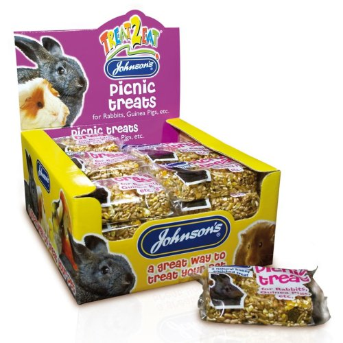 Jvp Rabbit & Guinea Pig Picnic Treats 50g (Pack of 24)
