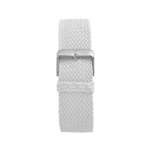 Wallace Hume Snow White Men's Perlon Watch Strap