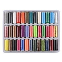 Trixes 39pc Polyester Sewing Thread Set | Assorted Sewing Threads