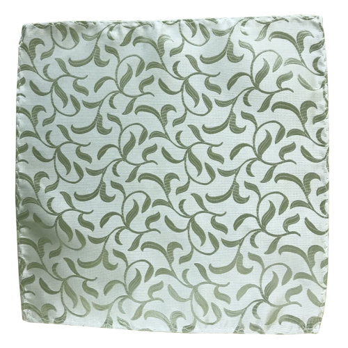 Emerald Green Vintage Vine Wedding Pocket Square #AB-TPH1004/6