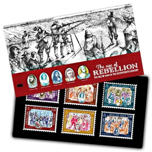 Isle of Man 2019 Stamps The Age of Rebellion Presentation Pack