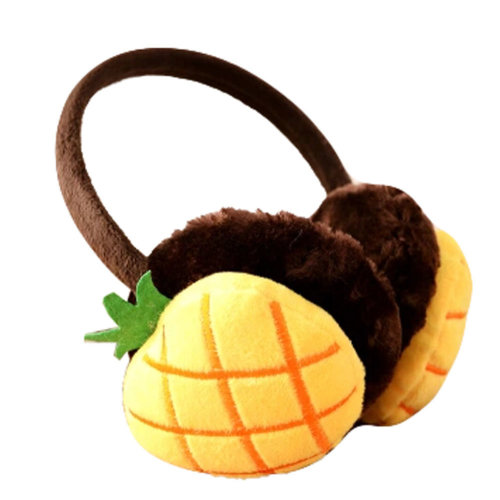 Cute Fruit Super Soft Earmuffs Winter Earmuffs Ear Warmers, Pineapple