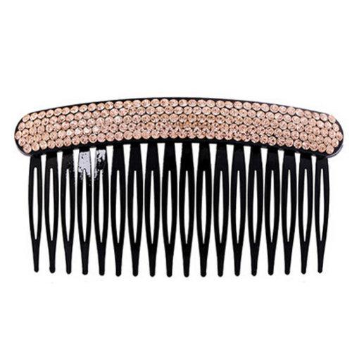 Elegant Luxury Diamond Hair Clip Hairpin Hair Barrette Hair Accessories,Yellow