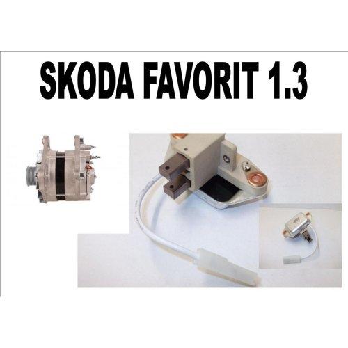 SKODA FAVORIT 1.3 1989-1994 NEW REGULATOR 1.3 PETROL 90 AMP MODELS HATCHBACK