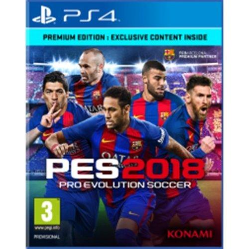 Pro Evolution Soccer (PES) 2018 Premium Edition (PS4)