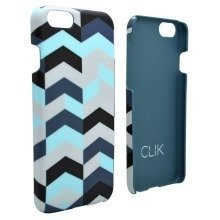 Clik iPhone 6 / 6S Case - Blue Chevron