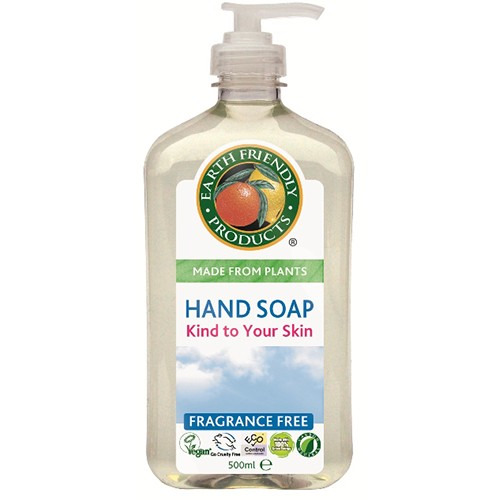 Earth Friendly Products Hand Soap Fragrance Free 500ml