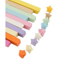10 Colors Origami Paper for Folding Star Solid Color 1314 Sheets