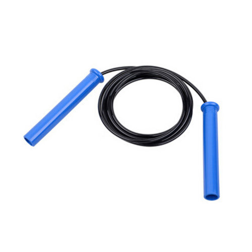 Jump Rope for Fitness Training,Professional Speed Rope PU Rope 2.8M Black