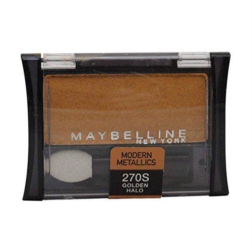 2 Pack Maybelline Expert Wear Modern Metallics Eye Shadow 270S Golden Halo by Maybelline