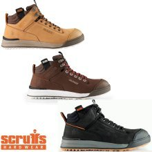 Scruffs SWITCHBACK Safety Work Boots Mens Leather