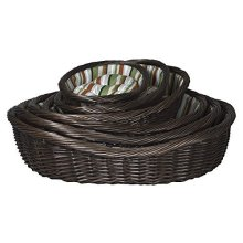 Trixie Brown Wicker Beds 50/60/70/80/90/100cm -