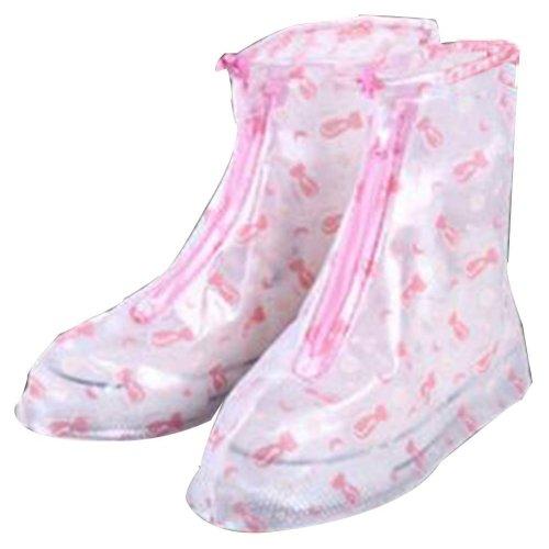 Rain Shoe Cover  Non-slip Wear  Shoe Cover Waterproof [Multicolor01]
