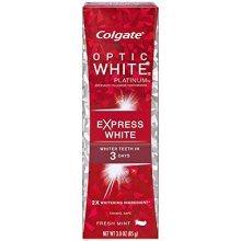 Colgate Optic White Platinum Toothpaste, Express White - 3 oz