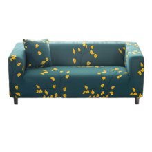 Double Sofa Cover Modern Elastic Sofa Couch Throws Slipcovers Non-slip Dustproof Sofa Cover-A14