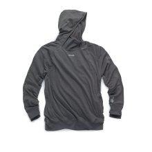 Scruffs Active Work Hoodie Charcoal Marl (Sizes S-XXL) Grey Warm Jumper Hoody