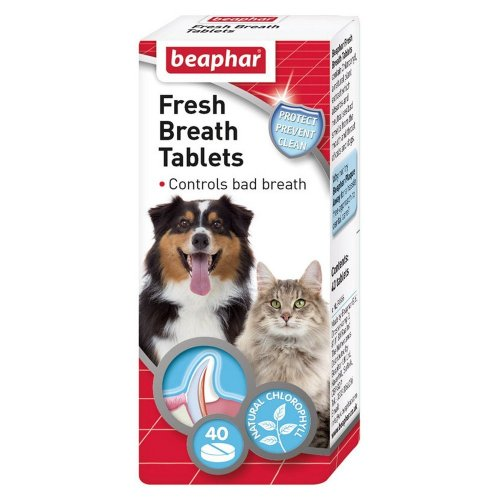 Beaphar Fresh Breath Tablets For Cats And Dogs